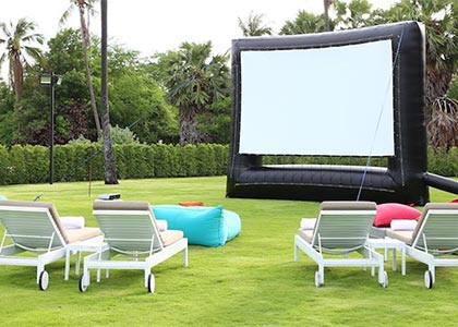 movies in the park - Boost Your Business